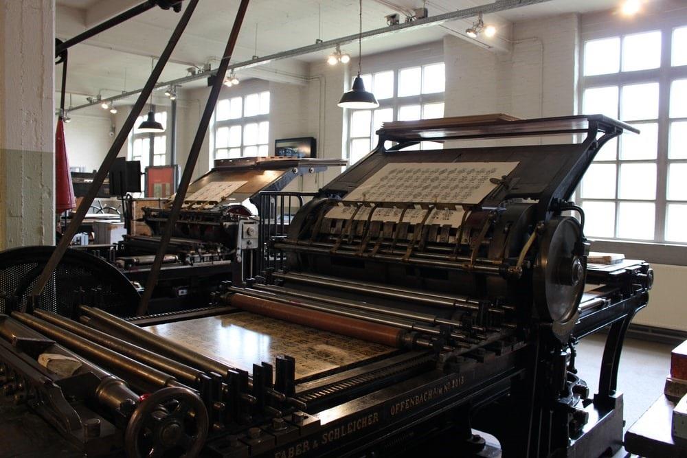 Ideeën werden sneller verspreid dankzij de drukpers